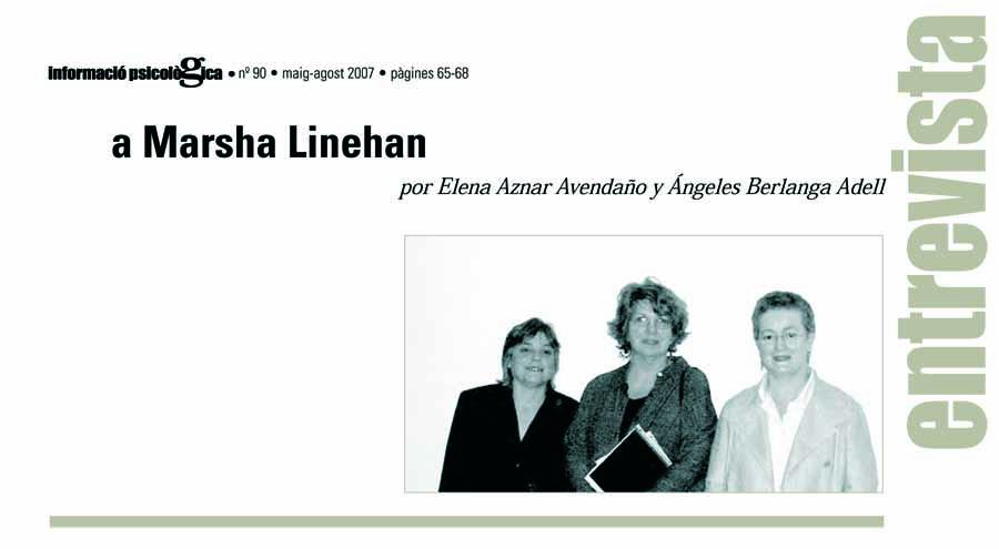 Entrevista Marsha Linehan